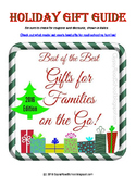 Gypsy Road's Gift Guide for Families On the Go!
