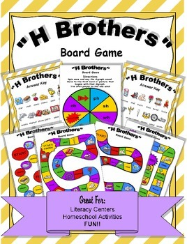 H Brothers Board Game