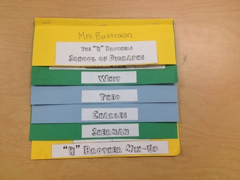 H-Brothers Digraph Flipbook