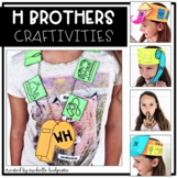 H Brothers H Digraphs Craftivities, sh, th, wh, ch, ph