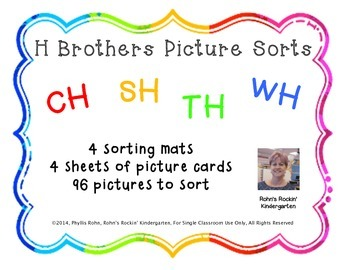 H Brothers Picture Sorts