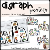 H Brothers Posters (Digraphs TH, WH, CH, SH)