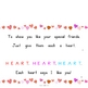 H-E-A-R-T (Bingo Tune) Interactive Book, Printable in Full Color!