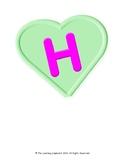 H-E-A-R-T Bulletin Board Letters