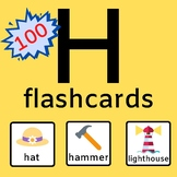 H Articulation Flashcards Distance Learning + Probes!