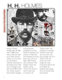 H. H. Holmes - America's First Serial Killer w/key