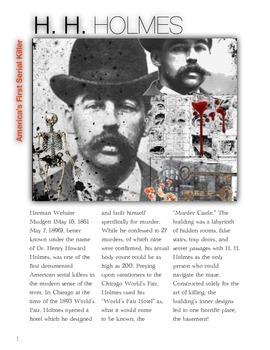 H. H. Holmes - America's First Serial Killer w/key