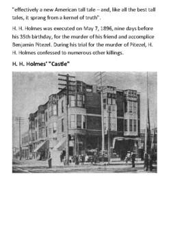 H. H. Holmes Handout