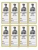 H. H. Munro (Saki) Bookmarks (FREE!)