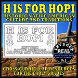 H IS FOR HOPI (Historic Native American Cultures)