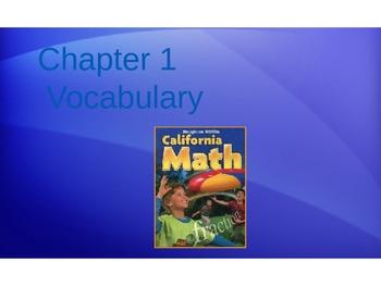 H Mifflin Math 4th Grade Vocabulary