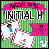 Initial H Minimal Pairs Flashcards for Initial H deletion
