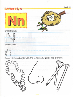 H,N,K,V,L,X, AND Q CONSONANT LETTERS (WEEKS 19-27)