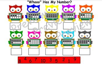H-Owl About Numbers? for ActivBoard