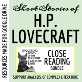 Short Stories of H.P. Lovecraft Bundle of Close Readings f