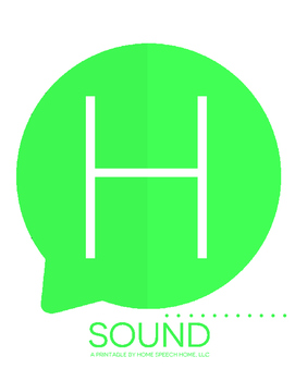 H Sound Printable Flashcards