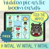 Articulation Boom Cards™ Hidden Pictures H W Y Freebie