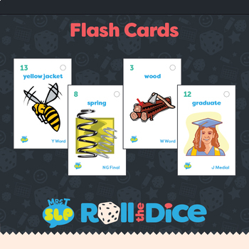 """H"", ""W"", ""Y"", ""NG"", and ""J"" Roll a Dice Reinforcer Games"