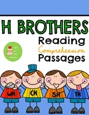 H brothers digraphs (wh, ch, th, sh) phonics reading compr