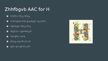 H for AAC