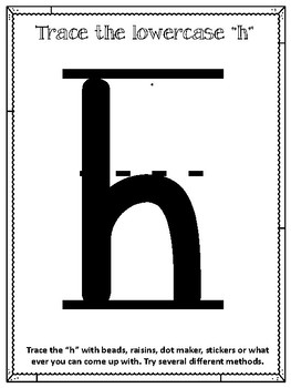 H is for Horse.  To Use with My Father's World.  Alphabet. 11 Worksheets