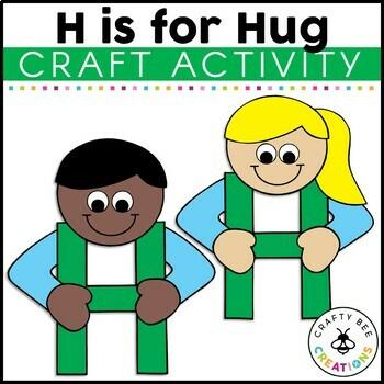 Letter H Craft {Hug}