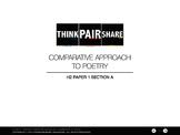 H2/9748 Literature in English Paper 1 Section A: Comparati