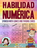 HABILIDAD NUMÉRICA Spanish Math Vocabulary Games ✅ Great f