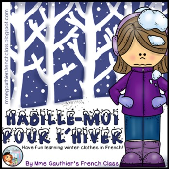 FRENCH WINTER CLOTHES UNIT - HABILLE-MOI POUR L'HIVER