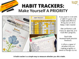 HABIT TRACKERS – Professional & Personal (for principals)