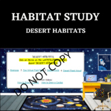 HABITAT STUDY- Desert Habitat - STEM
