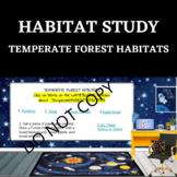 HABITAT STUDY- Temperate Forest - STEM