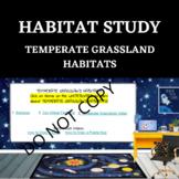 HABITAT STUDY- Temperate Grassland - STEM