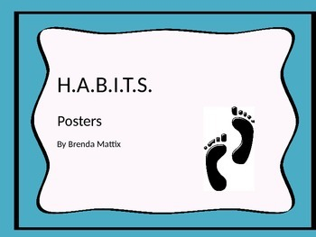 H.A.B.I.T.S. Posters