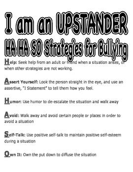 HAHASO bullying poster