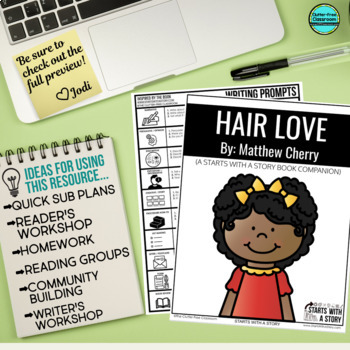 HAIR LOVE Activities and Read Aloud Lessons