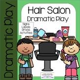 HAIR SALON Dramatic Play Center (BARBER SHOP)