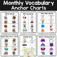 Monthly Vocabulary Word Wall: January