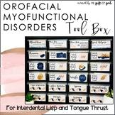 Tongue Thrust   Orofacial Myofunctional Disorders Tool Box