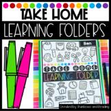 Take Home Learning Folders