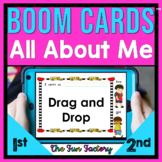 All About Me BOOM ™ Cards | All About Me Distance Learning