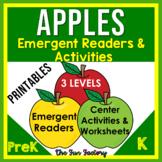 Apple Emergent Readers and Activities | PreK  Kindergarten