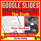 Christopher Columbus Google Slides ™ Close Reading | Dista