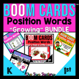 Positional Words Activities Digital BOOM CARDS™ BUNDLE