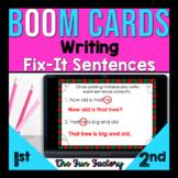 Digital BOOM CARDS™ for 1st Grade Morning Work | December