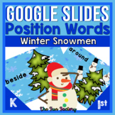 Digital Positional Words Activities for Google Slides™ Sno