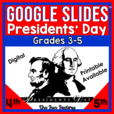 Digital Presidents Day Activities for Google Slides™ for D