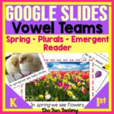 Digital Vowel Pairs   Plurals   Emergent Reader Google Sli
