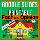 Fact and Opinion Activities Digital AND Printable BUNDLE w