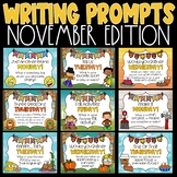 Daily Writing Prompts and Journals for November